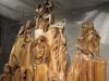 Jihočeský betlém dřevěný