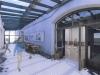 Vstupní prostor Stodoly - pohled od vchodu
