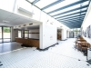 Chvalská stodola - vstupní prostory a zázemí