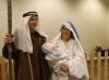Josef, Marie, Ježíšek a živá zvířátka