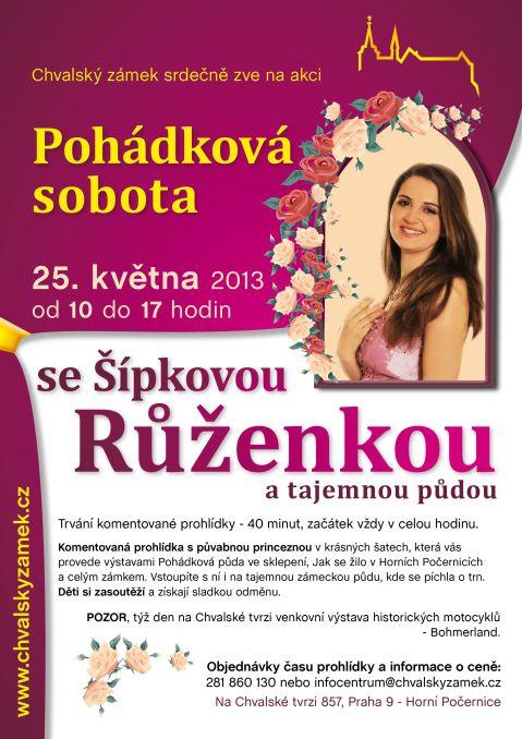 Pohádková sobota se Šípkovou Růženkou