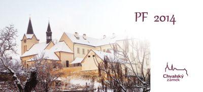PF z Chvalského zámku