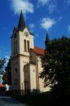 Kostel sv. Ludmily na Chvalech