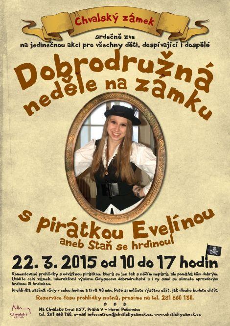 Pirátka Evelína