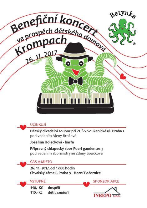 Benefiční koncert pro Krompach