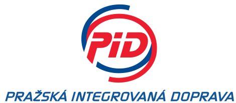 Logo Pražské integrované dopravy připojené k akci Autobusový den