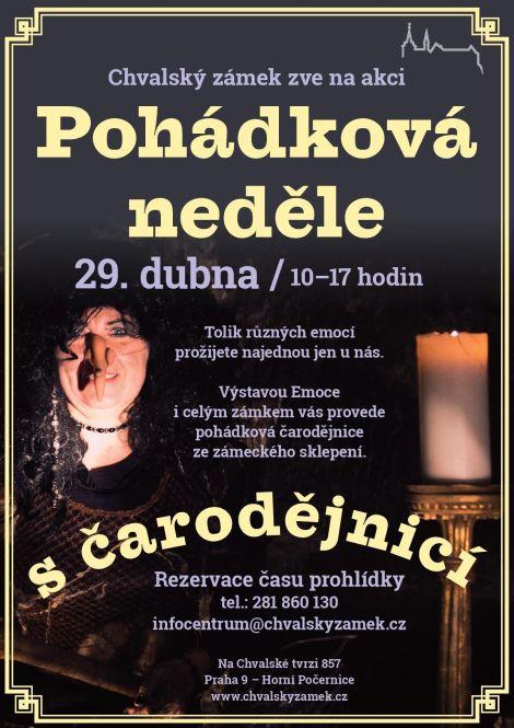 Pohádková neděle s čarodějnicí 29. 4. 2018