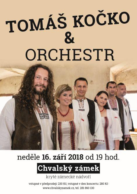 Tomáš Kočko & ORCHESTR na Chvalský zámek