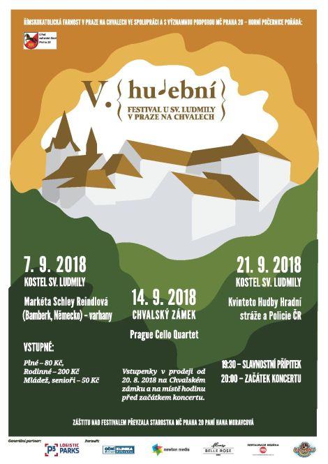 V. Hudební festival u sv. Ludmily na Chvalech