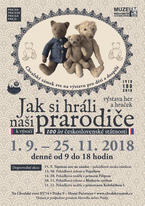 Jak si hráli naši prarodiče - výstava her a hraček k výročí 100 let československé státnosti