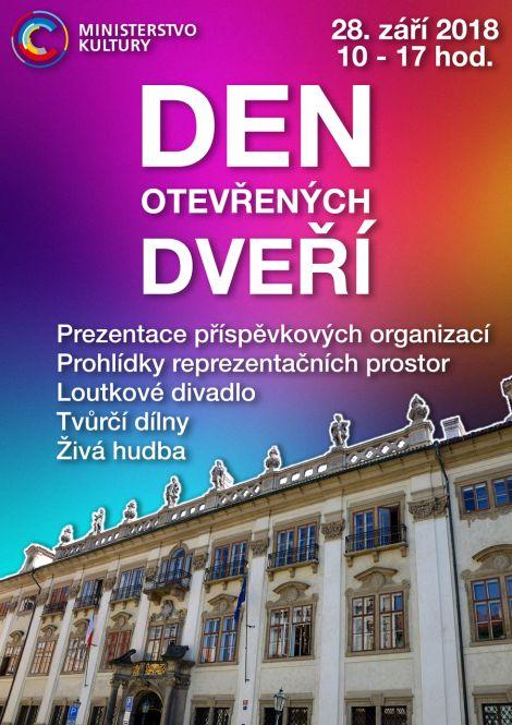 Den otevřených dveří Ministerstva kultury