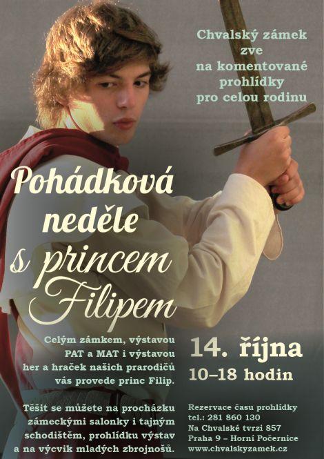 Pohádková neděle na zámku s princem Filipem