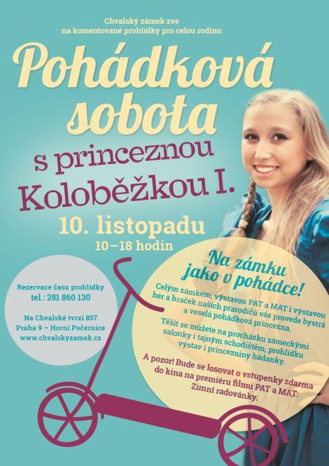 Soutěžní pohádková sobota s princeznou Koloběžkou I.