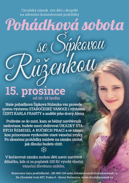 Pohádková sobota se Šípkovou Růženkou, ukázkou řemesel a dílnou pro děti