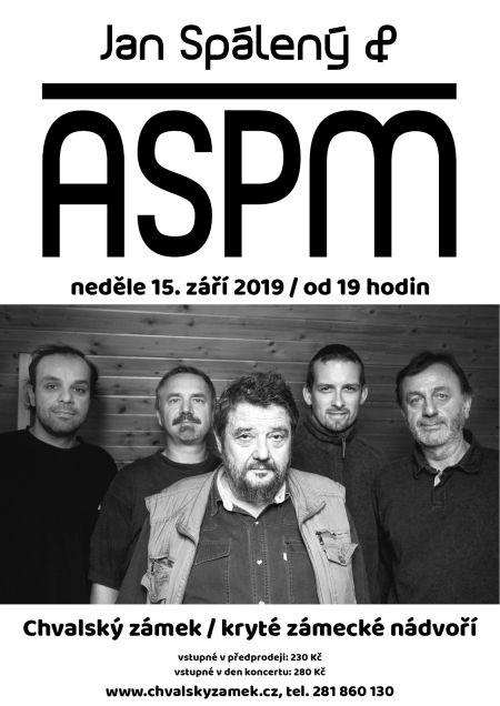 Jan Spálený a ASPM na Chvalském zámku