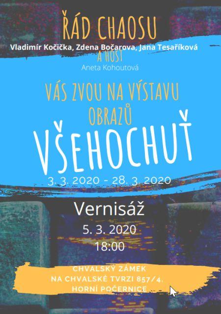 Plakát k výstavě Všehochuť