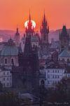 Foto k výstavě Krásy stověžaté Prahy