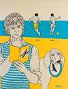 Obraz Pláž - Flyboys, autorka Věra Emma Tataro