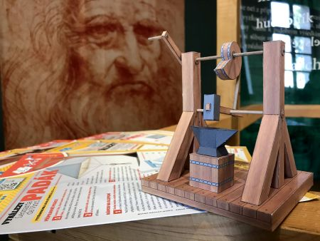 Foto k ONLINE soutěži pro děti s Leonardem da Vinci