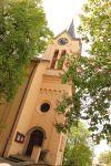 Foto kostela sv. Ludmily na Chvalech