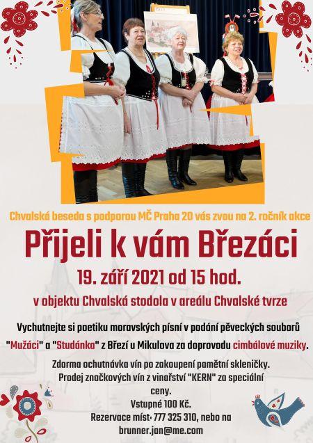 Plakát k akci: Veselá stodola - Přijeli k vám Březáci