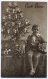 Foto k výstavě: Štědré Vánoce aneb pod vánočním stromkem našich prababiček a pradědečků: historické hračky a pohlednice z doby první republiky